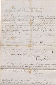 7th Tennessee Infantry document/ Gettysburg