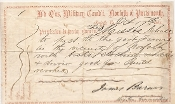 Barnes, James war date pass/ Norfolk, Virginia