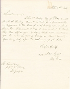 Craig, James war date letter/ St. Joseph, Missouri