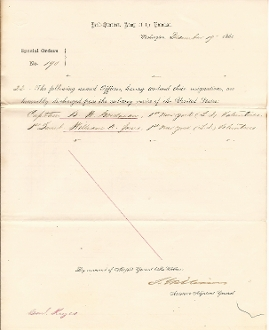 67th New York Infantry/ 1st New York Long Island Vol. document