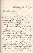 Jameson, Charles war date autographed letter