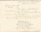 72nd Pennsylvania Infantry document