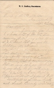 5th New Hampshire Infantry soldier's letter/ Petersburg, VA