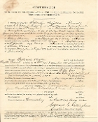 1st Maryland Infantry document
