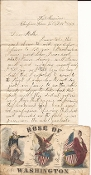8th Maine Infantry soldier's letter/ Fort Harrison/ Cedar Creek