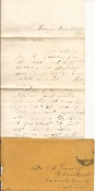 74th Indiana Infantry soldier's letter / Tennessee