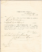 Benjamin, Judah P. Commission signed for BG Wm.J. Martin
