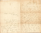 7th Indiana Infantry soldier's letter