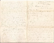 2nd Ohio Heavy Artillery soldier's letter/ Knoxville, TN